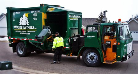 Residential Waste Collection Truck
