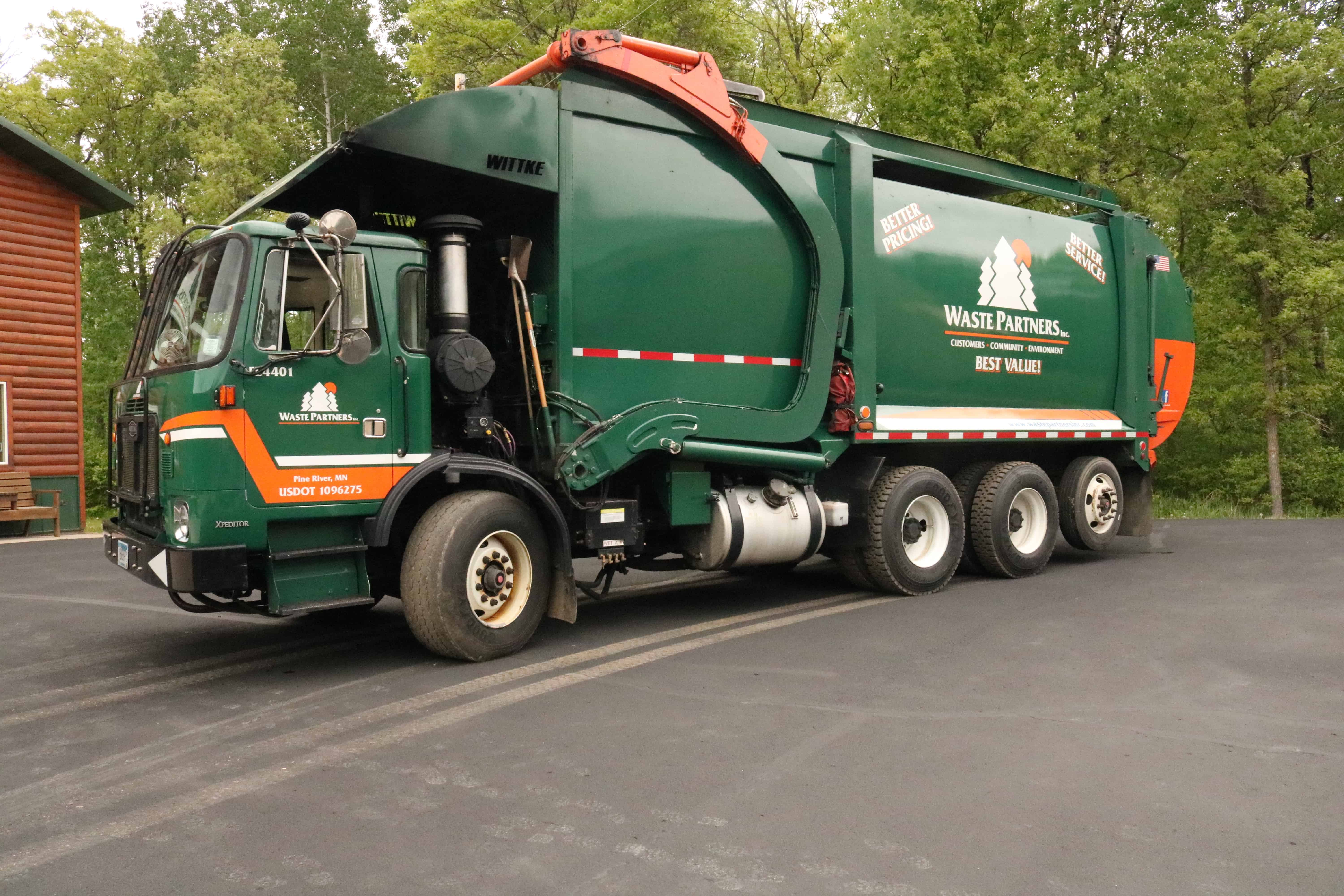 Commercial Recycling Truck Waste Partners