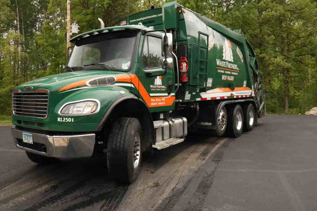 Solid Waste Collection Waste Partners Garbage Truck