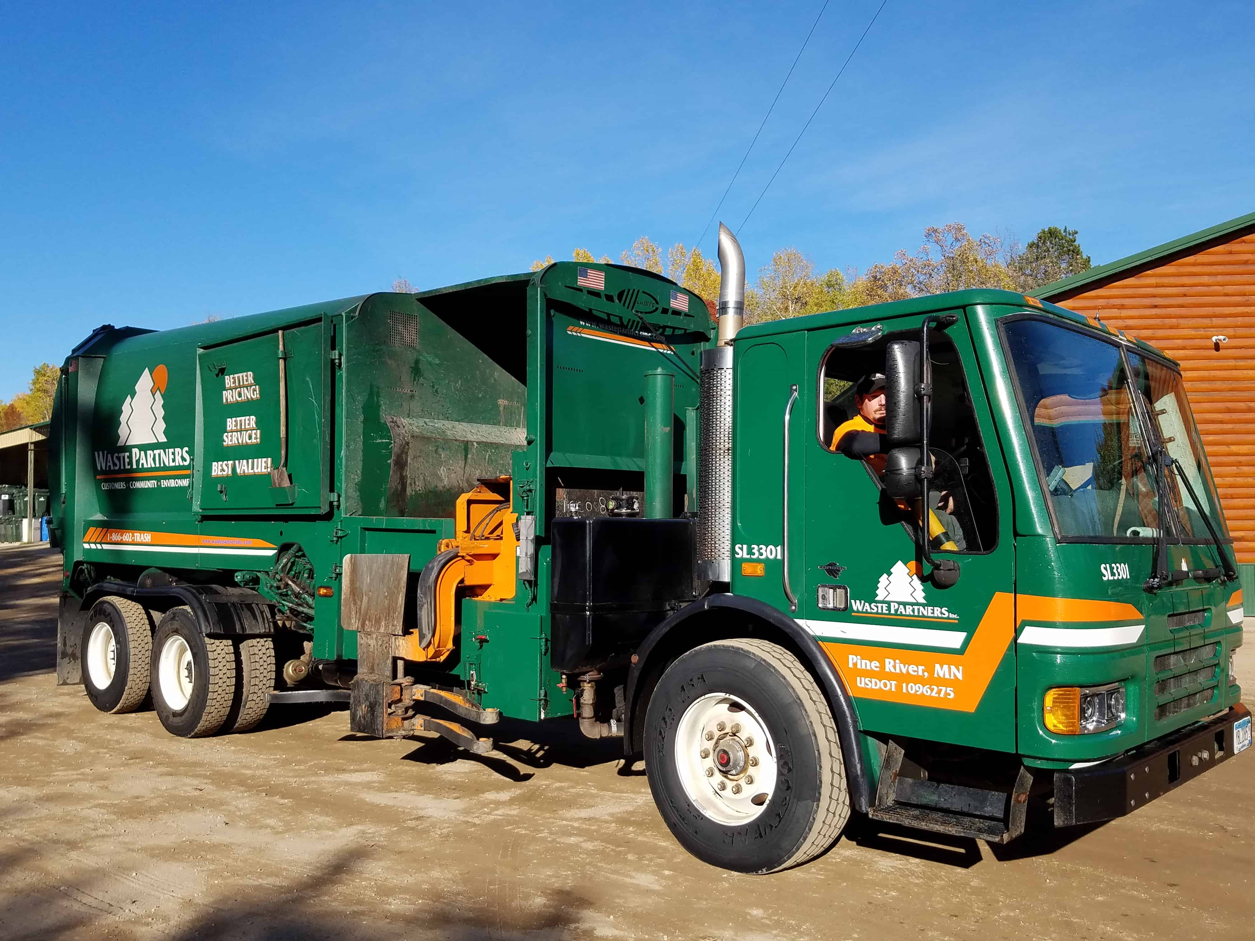 Careers at Waste Partners Residential Solid Waste Garbage Collection Waste Partners Services Residential Truck